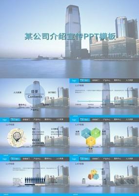 高端大气商务简约金典公司简介PPT模板