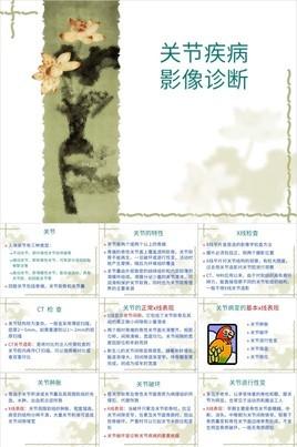 中国风关节疾病的特性及影像诊断PPT课件